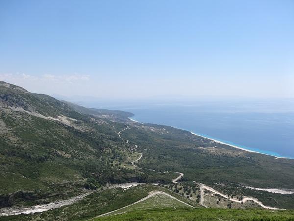 20 Albania przełęcz Llogara