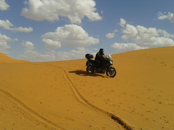 vstrom pustynia