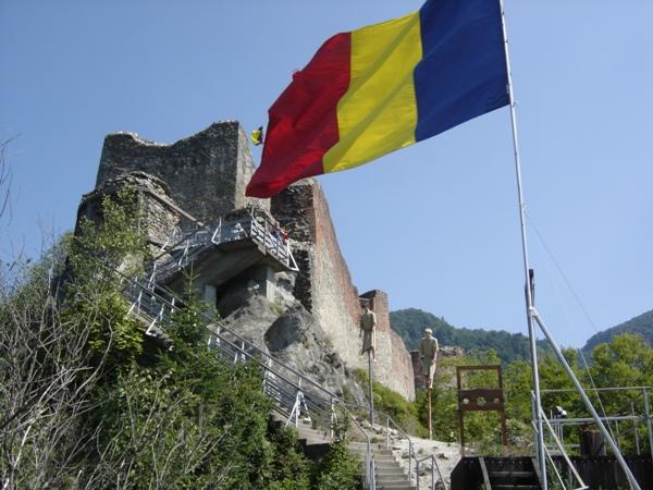 Zamek Poenari