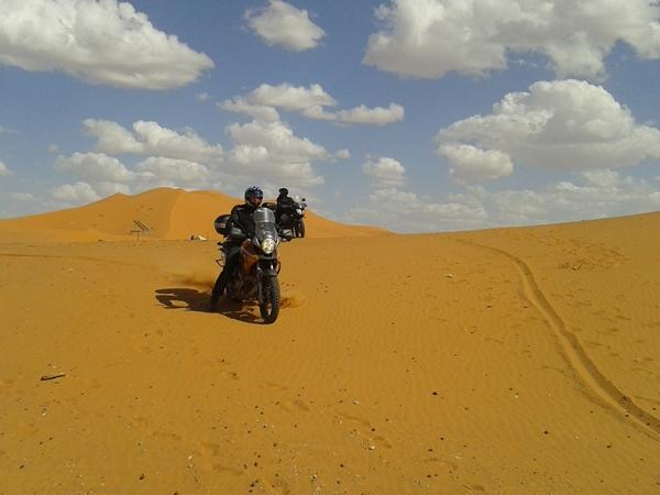 Taouz pustynia Maroko