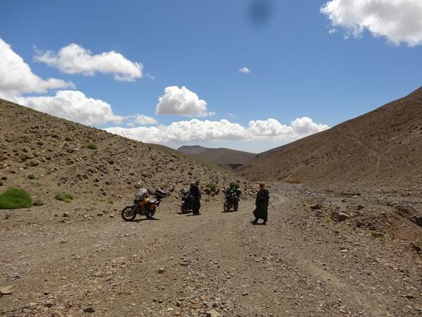 Koryto rzeki MAroko 3 nomada