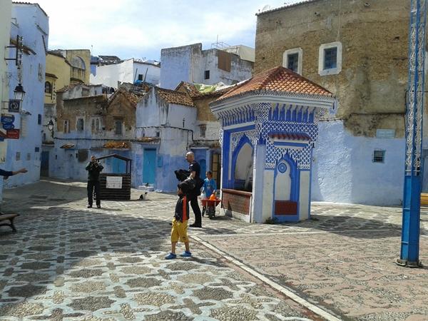 Chefchaouene Niebieskie miasto Maroko