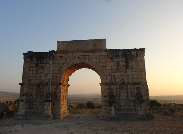 Volubic z czasów rzymskich Maroko