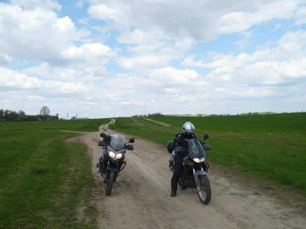 białoruskie drogi 1.motocyklicznie