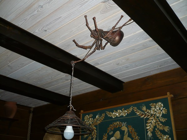 lampa pająk.motocyklicznie